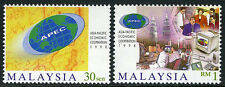 Malaysia 679a-680, MNH. APEC Conference. Petronas Towers, 1998 (see note)