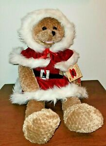 Chantilly Lane Musical Christmas Bear Sings All I Want For Christmas NWT 1994