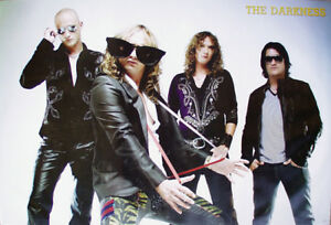 """THE DARKNESS """"BIG SUNGLASSES"""" POSTER FROM ASIA - Glam Metal Music"""