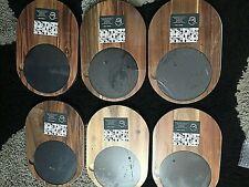 6 X Acacia Wood And Slate Serving Boards BNIB - Drinkstuff