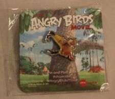 Angry Birds Chuck Canary Yellow Bird Promotional AMC Theater Movie Lapel Hat Pin