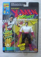 "Black Tom Cassidy X-Men X-ForceToy Biz 1995 Marvel 5"" inch action figure New"