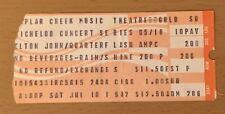 1982 ELTON JOHN QUARTERFLASH CHICAGO CONCERT TICKET STUB JUMP UP TOUR DANIEL 892
