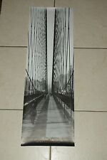 THE BROOKLYN BRIDGE 1915 Print (30x90cm) NEW YORK COLLECTION Measures 12
