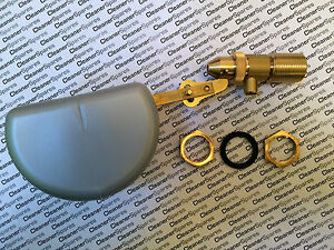 """PA RGO Brass 1/2"""" Silver Float Valve / Ball Cock (Pressure Washer Steam Cleaner)"""