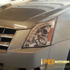 2008-2013 Cadillac CTS CT-S BRIGHTEST [LED DRL Bar] Projector Chrome Headlights
