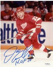 DINO CICCARELLI DETROIT RED WINGS SIGNED AUTOGRAPHED 8X10 PHOTO JSA SOA