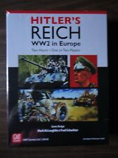 Hitler's Reich by GMT Games NEW 2018 mint in shrink
