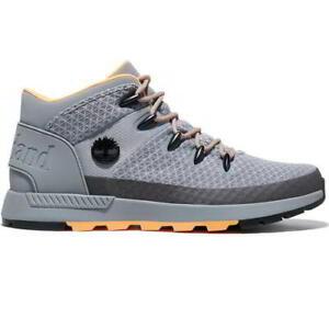 Timberland Euro Sprint Trekker Mens Grey Fabric Chukka Ankle Boots Size UK 8-11