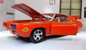 G LGB 1:24 Scale Pontiac GTO Judge Ram Air III 1969 Motormax Model Car 73242