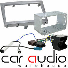 Porsche Cayman 987 2005 On Car Stereo Double Din Fascia & Wiring Interface Kit