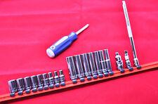 "Williams Tools 20-piece 1/4"" Drive Socket Extension Set"