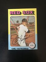 1975 TOPPS MINI #280 CARL YASTRZEMSKI HOF BOS RED SOX— PACK FRESH💥*** (wph)
