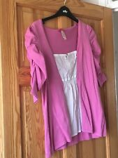 Next Ladies Short Sleeved Pink Top UK Size 12