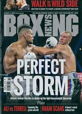 BOXING NEWS MAGAZINE 9th AUGUST 2018 ~ NEW ~