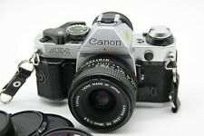 Canon AE-1 Program mit Canon FD 28 mm 1:2,8