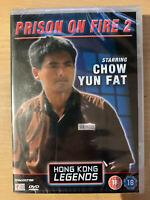 Prison on Fire 2 DVD 1991 Hong Kong Legengs DeAgostini HKL BNIB