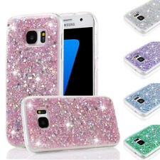 Slim Bling Glitter Shockproof Soft Gel Case Cover For Samsung S8 Note 8 A3 J3 J5