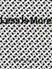 Less is More: The New Simplicity in Graphic Design by Fink, Anne Paperback Book