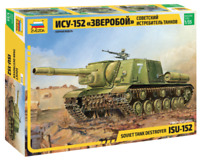 ZVEZDA 3532 ISU-152 Soviet Tank Destroyer Model Kit 1:35