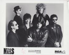 The Nails- Music Memorabilia Photo