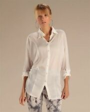 Polyester Batwing, Dolman Sleeve Button Down Shirt Machine Washable Tops & Blouses for Women