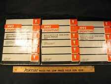 1992 Pontiac Bonneville SSE, SSEi 3 Vol Set Shop Manual