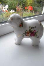 Royal Albert Old Country Roses Old English Sheepdog Bone China 2nd Quality