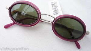 S.Oliver Sunglasses Side Protector New Oval Damensilber Pink Steampunk Size M