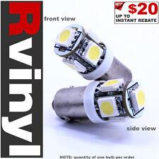 ProFocos White (1X) BA9S 5 5050SMD LED Ash Tray Light Bulb Lamp Light for Chevy