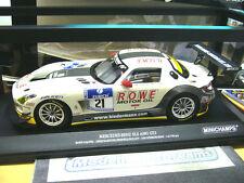 MERCEDES BENZ SLS AMG GT3 24h Nürburgring 2012 Rowe #21 Bullitt Minichamps 1:18.