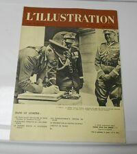 1939 July 29th L'ILLUSTRATION French Magazine VG