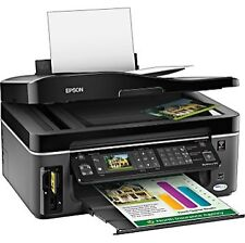 Epson WorkForce 610 All-In-One Inkjet Printer Fax Scan Photo Wifi