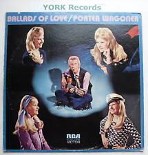 PORTER WAGONER - Ballads Of Love - Ex Con LP Record