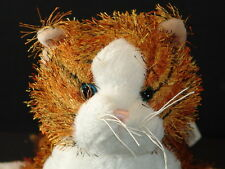 WEBKINZ PLUSH ONLY NO SECRET CODE STRIPED ALLEYCAT FREE SHIPPING TIGER TOY
