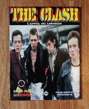 """Livre THE CLASH """"L'appel de Londres"""" (NEUF)"""