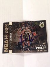 Jabari Parker HAND SIGNED 2015/16 Panini Insert Card With COA