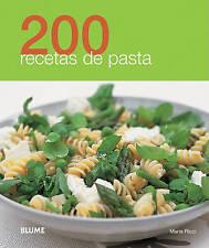 NEW 200 recetas de pasta (Spanish Edition) by Maria Ricci