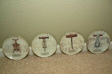 """Set of 4 Lovely and elegant  8"""" Decorative cork plates with hangers"""