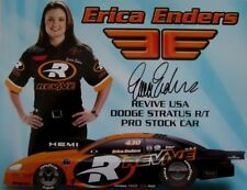 ERICA ENDERS NHRA SIGNED 2006 REVIVE DRAG RACING PRO STOCK HANDOUT