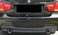 BMW NEW GENUINE E90 E91 LCI (05-12) M SPORT REAR DIFFUSER WITH DOUBLE EXHAUST
