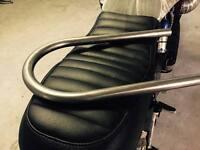 curva telaietto D25 telaio cafe racer scrambler BMW DUCATI HONDA
