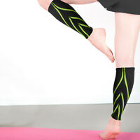 Calf Sleeve Compression Brace Support For Sport Exercise Muscle Pain Relief M-XL