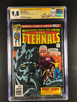 Eternals 1 CGC 9.8 signed by Stan Lee & Jack Kirby 1st Celestials Eternals