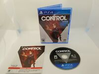 Control Game - Sony Playstation 4 PS4 - Tested & Working Complete