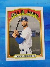 2021 Topps Heritage #416 Lourdes Gurriel Jr Blue Jays SP
