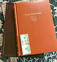 """Huge 1977 """"The Art of Glen Loates"""" Signed Folio Book & Bison Lithograph P. Duval"""
