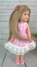 "8-9"" Custom Doll Wig fits Dolfie, Luts, Wellie Wisher ""Lil' Champagne Cork"" bn1"