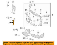 TOYOTA OEM Echo Radiator Core Support-Center Hood Lock Latch Support 5320852070