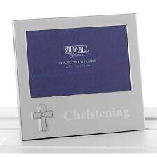 "Silver Christening Photo Frame Gift - 4""x6"" 74500"